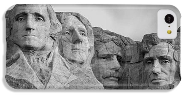 Usa, South Dakota, Mount Rushmore, Low IPhone 5c Case by Panoramic Images