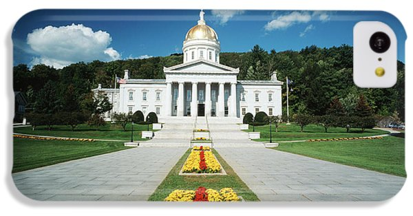 Capitol Building iPhone 5c Case - Usa, Vermont, Montpelier, Vermont State by Walter Bibikow