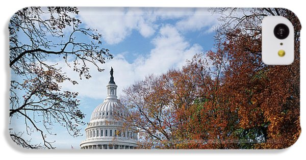 Capitol Building iPhone 5c Case - Usa, Washington Dc, View Of Capitol by Scott T. Smith