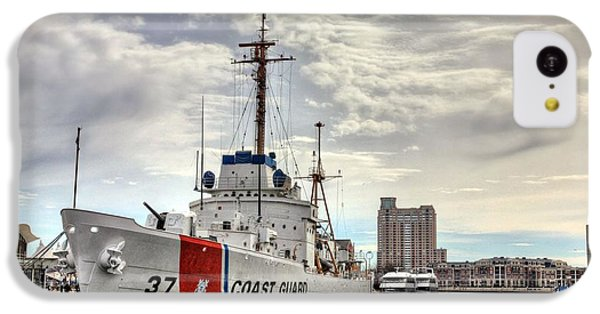Uscg Cutter Taney IPhone 5c Case by JC Findley