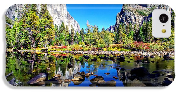 Valley View Reflection Yosemite National Park IPhone 5c Case