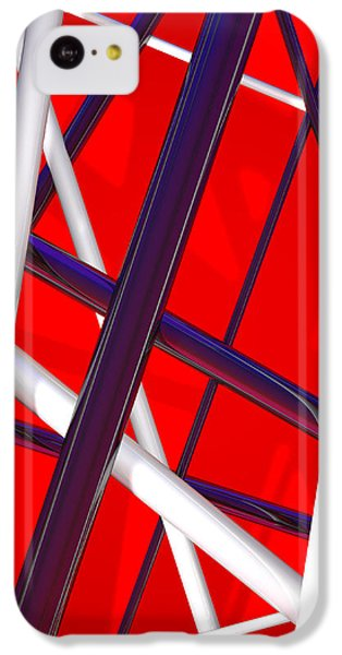 Van Halen 3d Iphone Cover IPhone 5c Case by Andi Blair