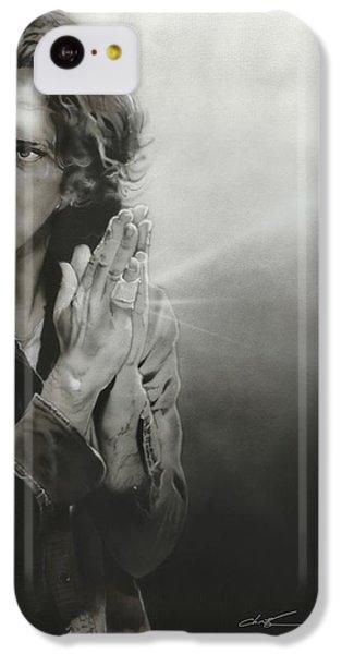 Eddie Vedder - ' Vedder Iv ' IPhone 5c Case by Christian Chapman Art