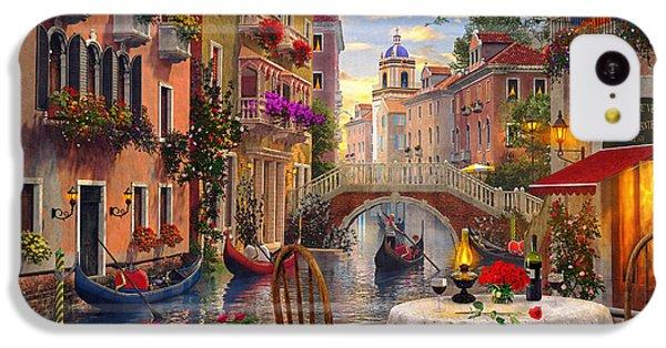 Venice Al Fresco IPhone 5c Case by Dominic Davison