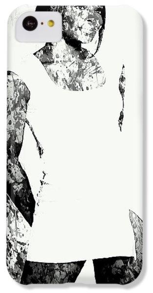 Venus Williams Paint Splatter 2c IPhone 5c Case by Brian Reaves