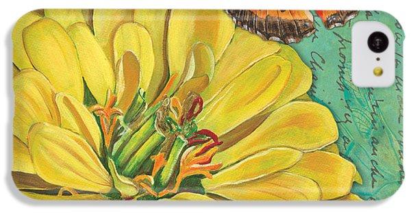 Verdigris Floral 2 IPhone 5c Case by Debbie DeWitt