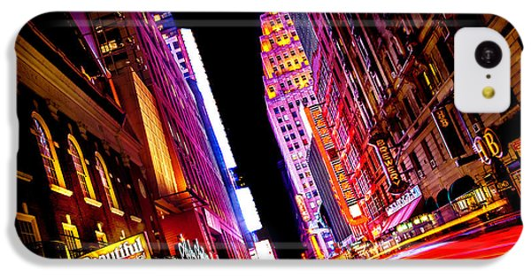 Vibrant New York City IPhone 5c Case by Az Jackson