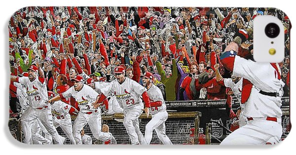 Victory - St Louis Cardinals Win The World Series Title - Friday Oct 28th 2011 IPhone 5c Case