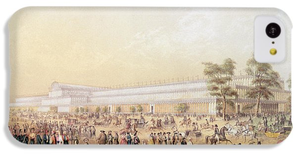 View Of The Crystal Palace IPhone 5c Case by George Baxter