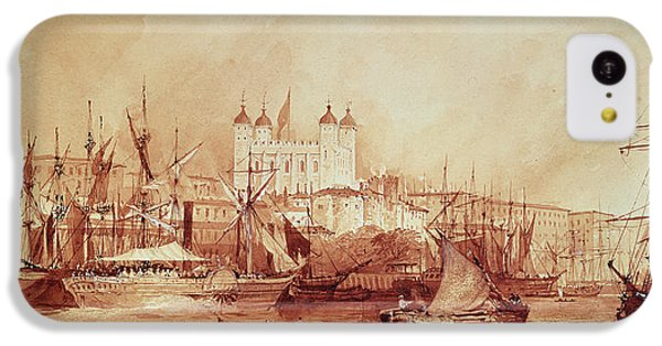 View Of The Tower Of London IPhone 5c Case by William Parrott
