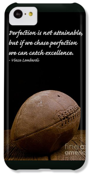 Vince Lombardi On Perfection IPhone 5c Case