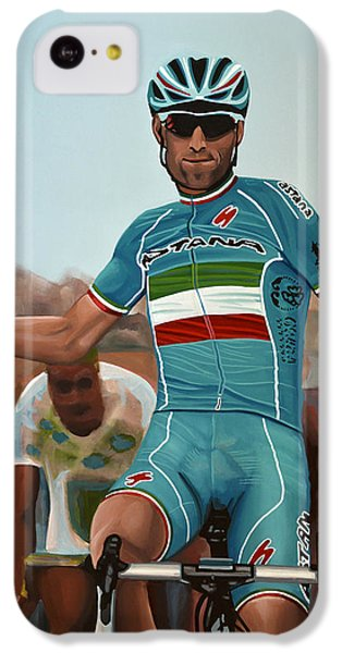 Vincenzo Nibali Painting IPhone 5c Case by Paul Meijering