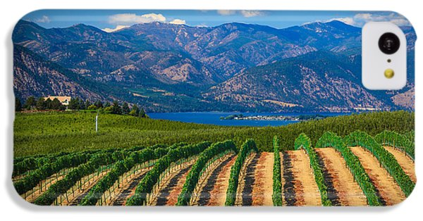 Vineyard In The Mountains IPhone 5c Case
