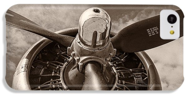 Vintage B-17 IPhone 5c Case by Adam Romanowicz