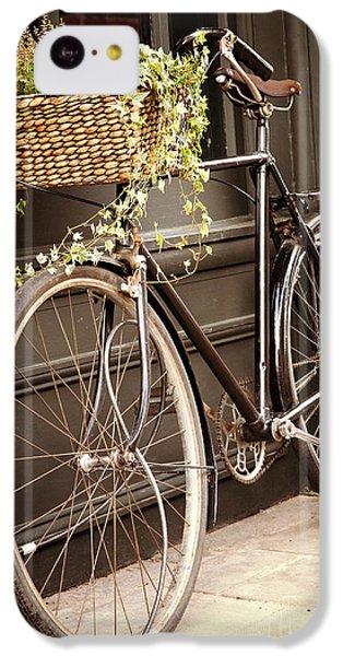 Bicycle iPhone 5c Case - Vintage Bicycle by Jane Rix