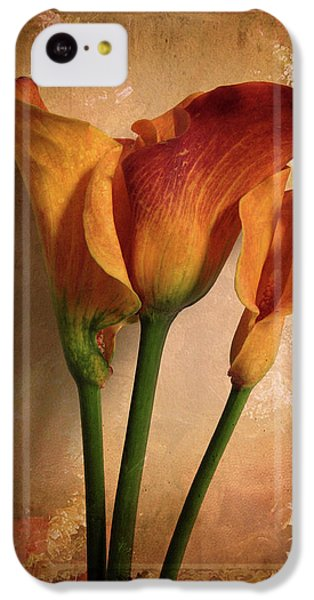 Lily iPhone 5c Case - Vintage Calla Lily by Jessica Jenney