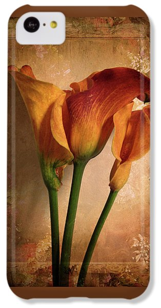 IPhone 5c Case featuring the photograph Vintage Calla Lily by Jessica Jenney