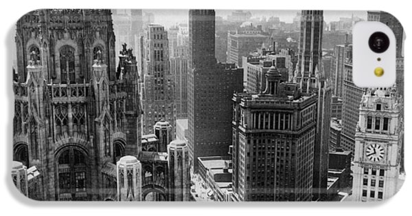 Vintage Chicago Skyline IPhone 5c Case