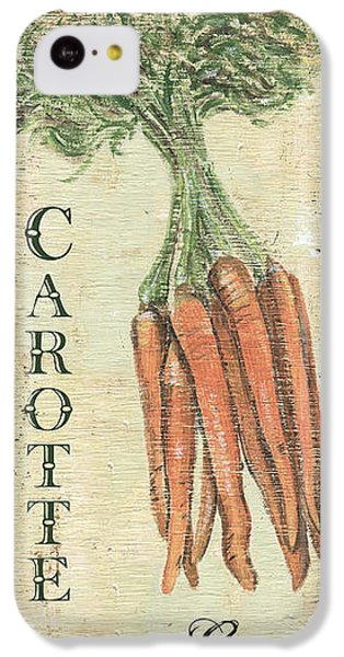 Carrot iPhone 5c Case - Vintage Vegetables 4 by Debbie DeWitt