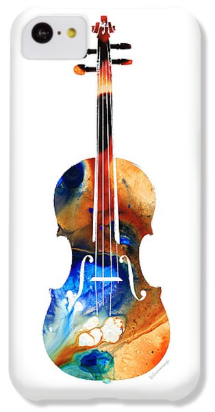 Violin iPhone 5c Case - Violin Art By Sharon Cummings by Sharon Cummings