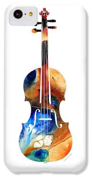 Violin iPhone 5c Case - Violin Art By Sharon Cummings by Sharon Cummings