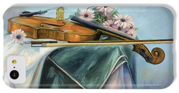 Violin iPhone 5c Case - Violin by Lucie Bilodeau