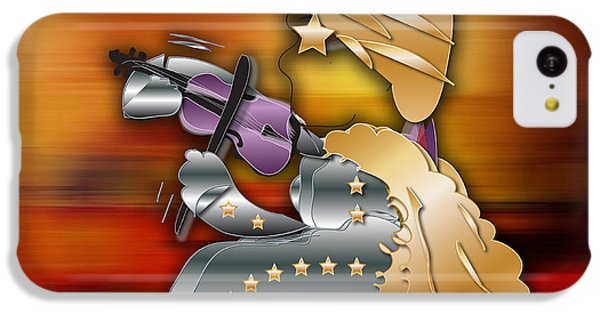 IPhone 5c Case featuring the digital art Violin Player by Marvin Blaine