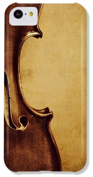 Violin iPhone 5c Case - Violin Portrait  by Emily Kay