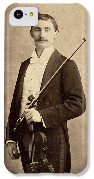 Violin iPhone 5c Case - Violinist, C1900 by Granger