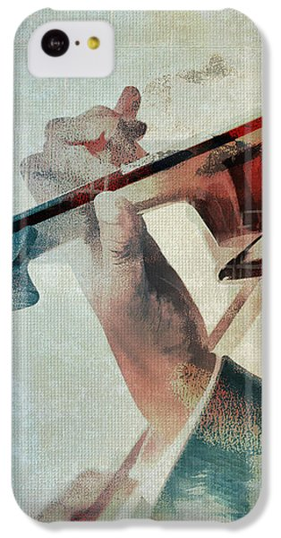 Violin iPhone 5c Case - Violinist by David Ridley