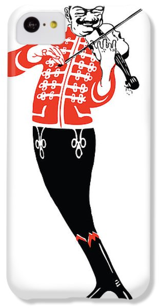 Violinist IPhone 5c Case by Gary Grayson