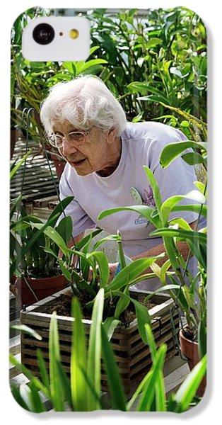 Volunteer At A Botanic Garden IPhone 5c Case