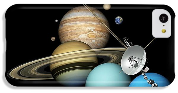 Voyager 2 And Planets IPhone 5c Case