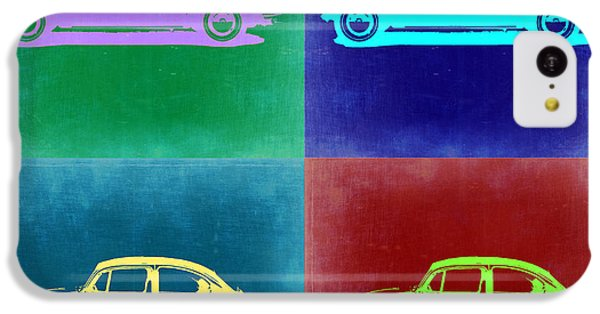 Beetle iPhone 5c Case - Vw Beetle Pop Art 3 by Naxart Studio
