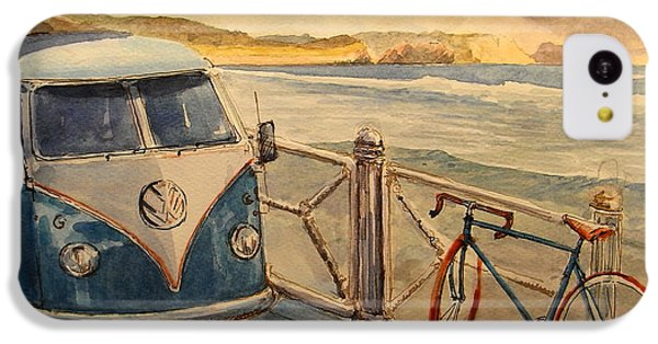 Bicycle iPhone 5c Case - Vw Westfalia Surfer by Juan  Bosco