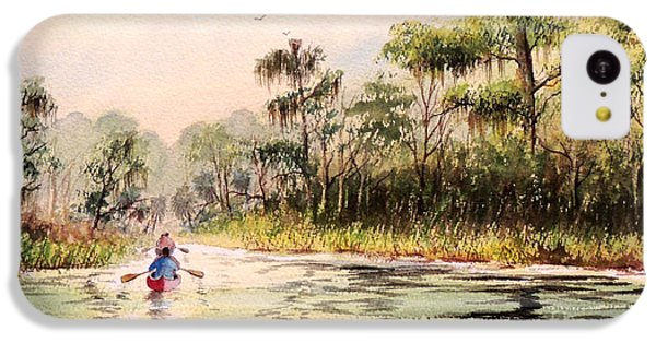 Wacissa River  IPhone 5c Case by Bill Holkham