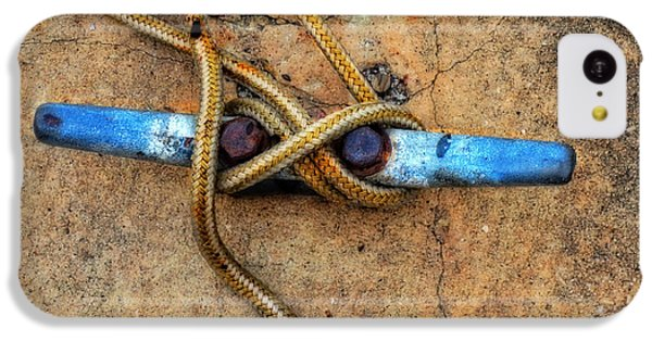 Waiting - Boat Tie Cleat By Sharon Cummings IPhone 5c Case