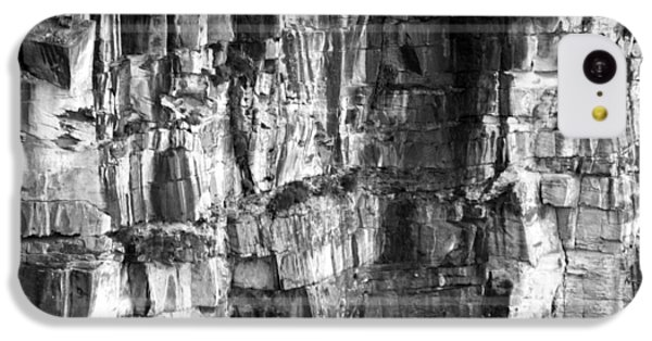 IPhone 5c Case featuring the photograph Wall Of Rock by Miroslava Jurcik