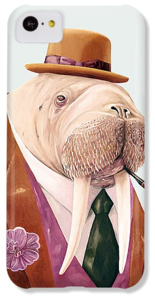 Walrus IPhone 5c Case by Animal Crew