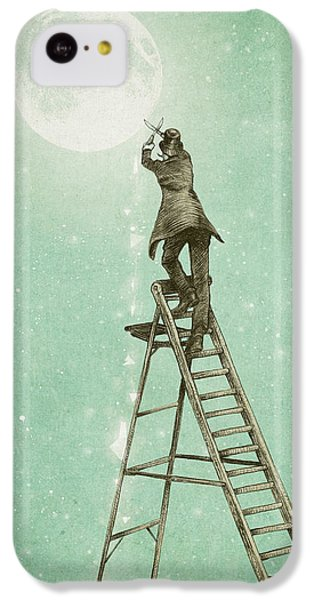 Fantasy iPhone 5c Case - Waning Moon by Eric Fan