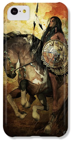 T Shirts iPhone 5c Case - Warrior by Shanina Conway