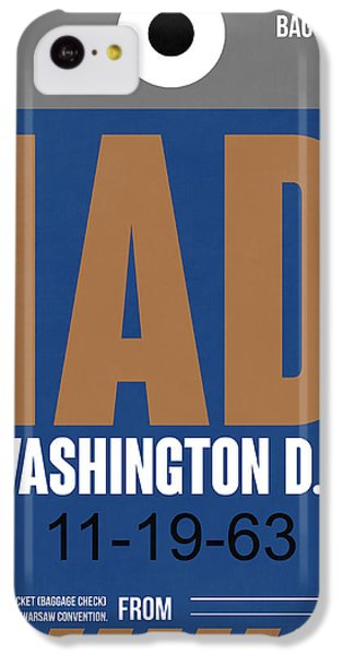 Washington D.c. Airport Poster 4 IPhone 5c Case by Naxart Studio