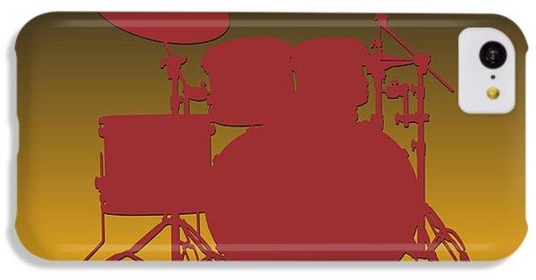 Washington Redskins Drum Set IPhone 5c Case by Joe Hamilton