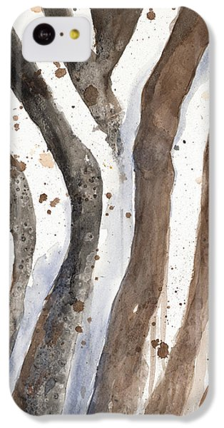 Watercolor Animal Skin II IPhone 5c Case by Patricia Pinto