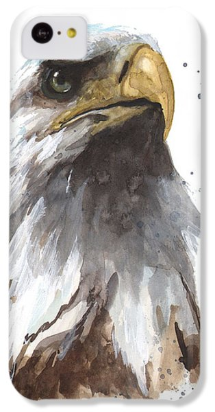 Watercolor Eagle IPhone 5c Case by Alison Fennell