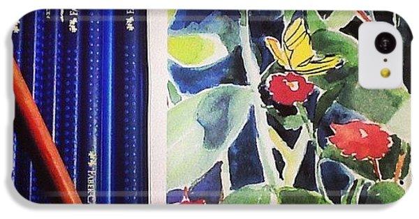 iPhone 5c Case - Watercolor Greetings Cards.... Pintando by Sandra Lira