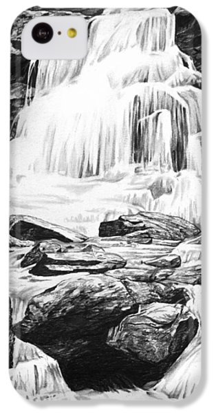 Waterfall IPhone 5c Case by Aaron Spong