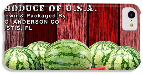 Watermelon Farm IPhone 5c Case by Marvin Blaine