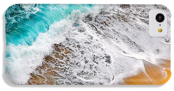 Waves Abstract IPhone 5c Case by Silvia Ganora