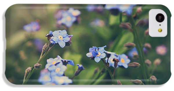 Garden iPhone 5c Case - We Lay With The Flowers by Laurie Search